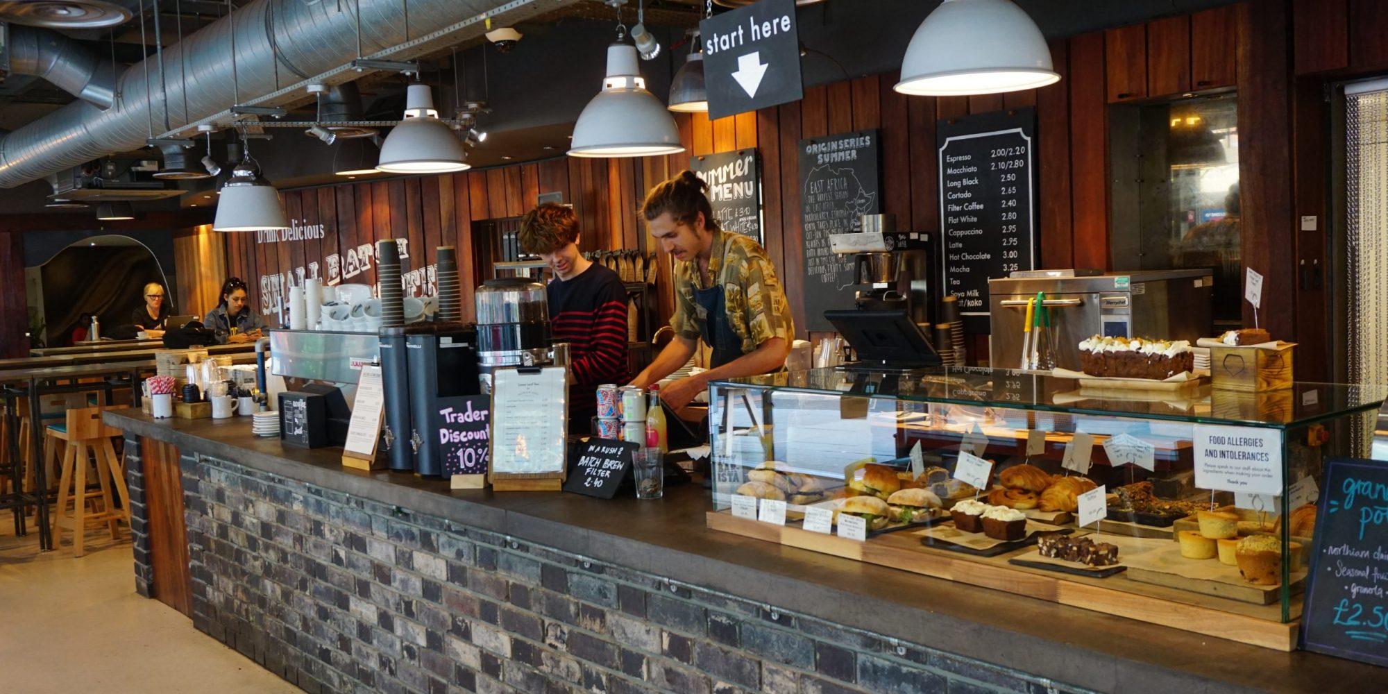 Small Batch Coffee Roasters (Jubilee Street)