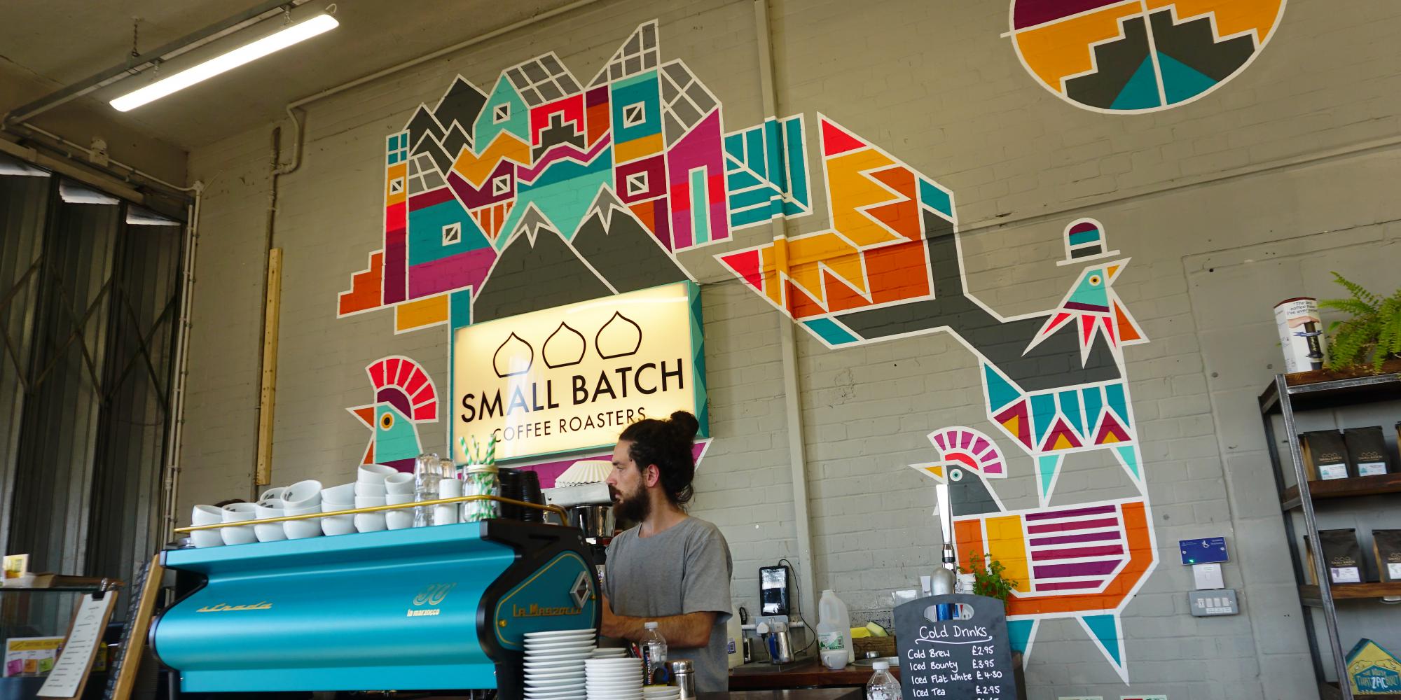 Small Batch Coffee (Wellington House)